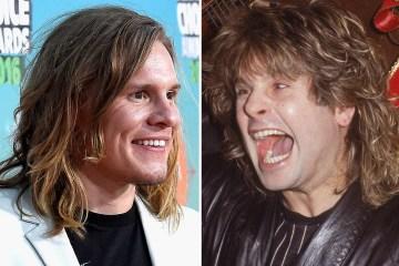 Tony Cavalero interpretará a Ozzy Osbourne en la película de Mötley Crüe. Cusica Plus.