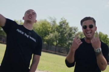 """Logic deja un fuerte mensaje político en el videoclip de """"One Day"""". Cusica Plus."""