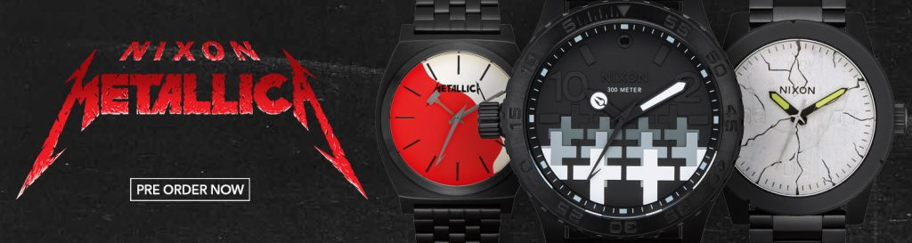 Metallica relojes