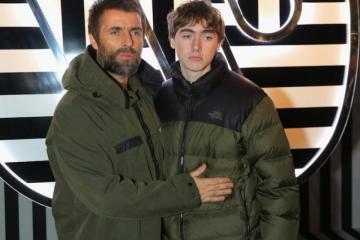 Hijo de Liam Gallagher liderará su primera banda de rock. Cusica Plus.