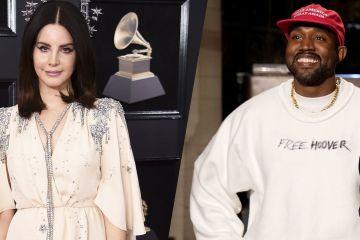 Kanye West fue criticado fuertemente por Lana Del Rey, por apoyar a Donald Trump. Cusica Plus.