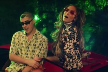 """Jennifer Lopez y Bad Bunny se unen en el nuevo tema """"Te gusté"""". Cusica Plus."""
