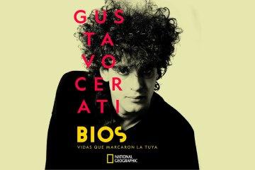 """Escucha """"Hablando de vos"""" el tema inédito de Gustavo Cerati que se estrenó en BIOS. Cusica Plus."""