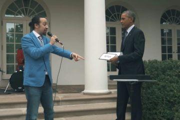 Lin-Manuel Miranda comparte su último Hamildrop del año con participación de Barack Obama. Cusica Plus.