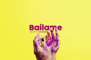"""Escucha """"Báilame"""" el último adelanto del próximo disco de Danny Ocean. Cusica Plus."""