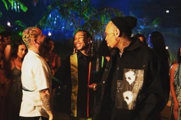 J Balvin es criticado por una supuesta colaboración con Chris Brown. Cusica Plus.