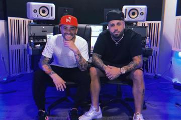 """Nacho se une con Nicky Jam en el nuevo reggaetón """"Mona Lisa"""". Cusica Plus."""