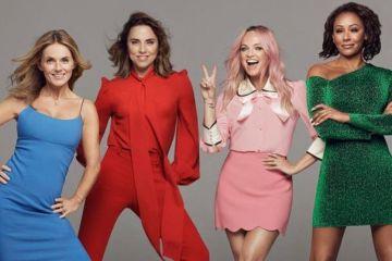 Disfruta las primeras imágenes del escenario de la reunión de las Spice Girls. Cusica Plus.