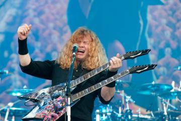 Dave Mustaine de Megadeth, es diagnosticado con cáncer de garganta. Cusica Plus.