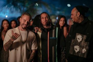 Escucha la polémica colaboración entre J. Balvin, Tyga y Chris Brown. Cusica Plus.
