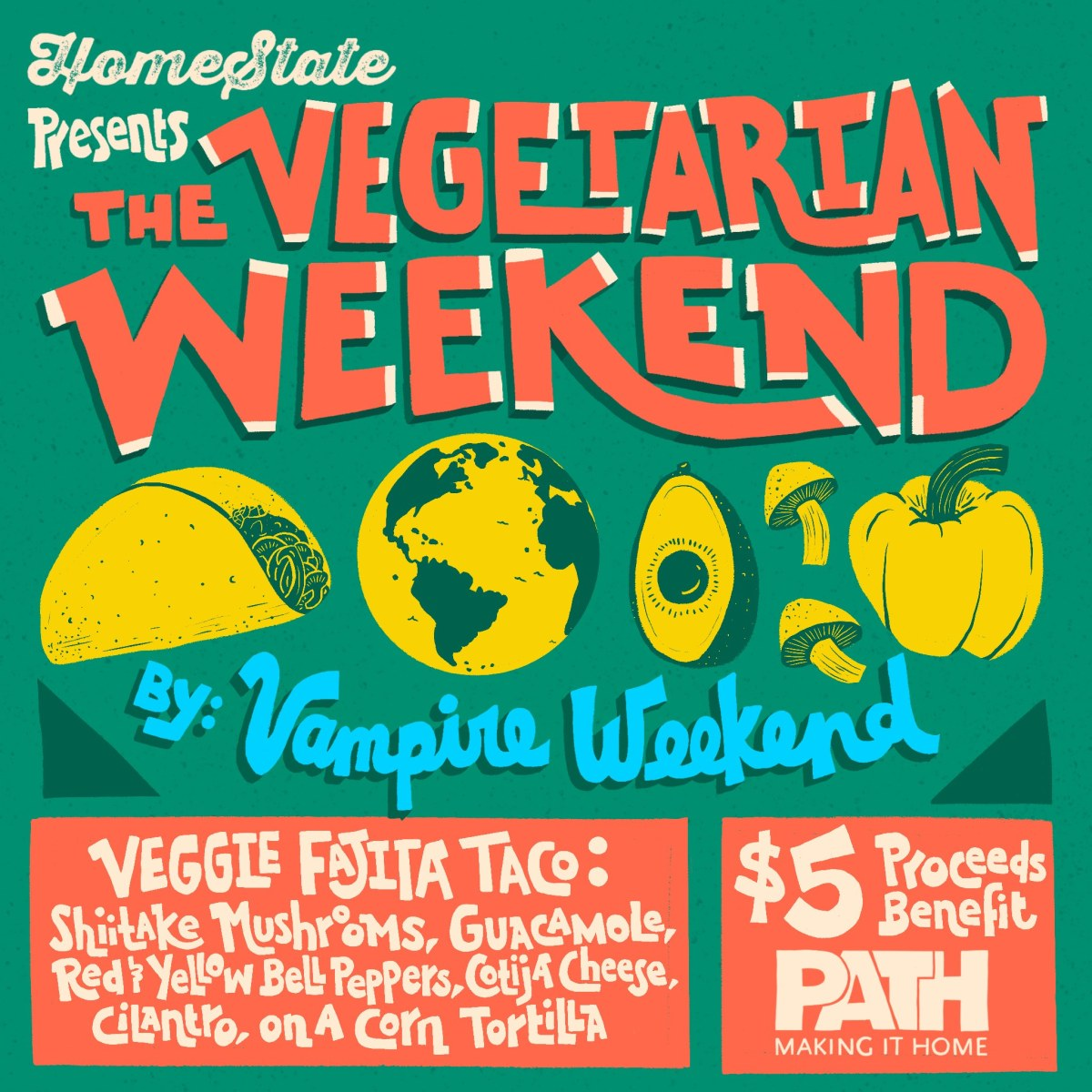 The Vegetarian Weekend by. Vampire Weekend