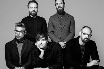 Escucha 'The Blue', el nuevo EP de Death Cab for Cutie. Cusica Plus.