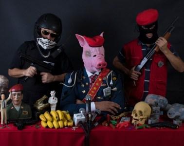 Ministro: ¿Cuál es su trabajo? un extraño tributo al punk venezolano. Cusica Plus.