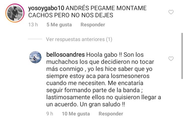 Instagram, Andrés Belloso