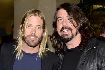Taylor Hawkins de Foo Fighters, estrenó nuevo tema junto a Dave Grohl. Cusica Plus.