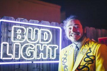 Post Malone tendrá una línea de cervezas Bud Light - Cúsica Plus