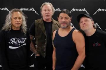 Metallica dona 100.000 dólares a los afectados por los incendios en California. Cusica Plus.