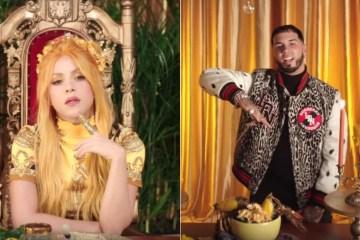 Shakira y Anuel AA comparten videoclip de 'Me Gusta'. Cusica Plus.