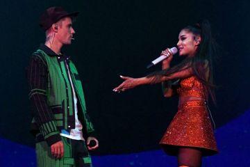 Justin Bieber y Ariana Grande se preparan para un tema juntos. Cusica Plus.