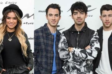 Los Jonas Brothers y Karol G se unen en el nuevo sencillo 'X'. Cusica Plus.