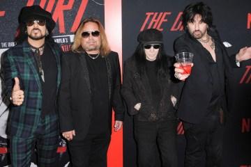 Mötley Crüe transmitirá en vivo su película 'The Dirt' para verla junto a sus fans. Cusica Plus.