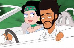 The Weeknd estrena un nuevo tema como personaje de la serie American Dad. Cusica Plus.