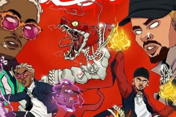 Chris Brown y Young Thug se unen en el nuevo mixtape 'Slime & B'. Cusica Plus.