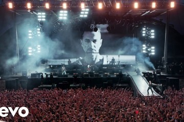 Depeche Mode anuncia concierto en vivo, grabado durante su gira 'Global Spirit'. Cusica Plus.
