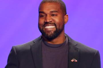 Kanye West que quiere postularse como presidente de Estados Unidos. Cusica Plus.