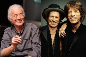 The Rolling Stones comparte nueva canción inédita con Jimmy Page. Cusica Plus.