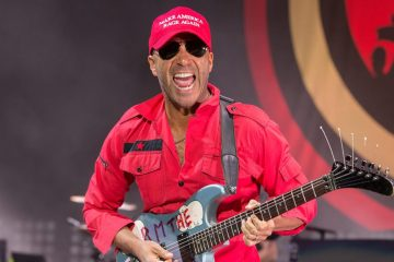 Tom Morello de Rage Against the Machine, estrena nuevo tema benéfico. Cusica Plus.