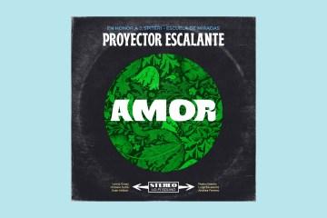 Proyector Escalante interpreta 'Amor' de Jorge Spiteri en honor a su arte. Cusica Plus.