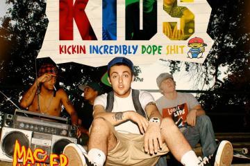 Estrenan versión deluxe del mixtape 'K.I.D.S.' de Mac Miller, por su décimo aniversario. Cusica Plus.