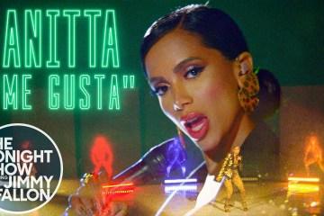 Anitta, Cardi B y Myke Towers, cantaron en vivo 'Me Gusta' en el show de Jimmy Fallon. Cusica Plus.