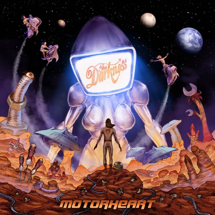 The Darkness anuncia nuevo álbum 'Motorheart' | CusicaPlus
