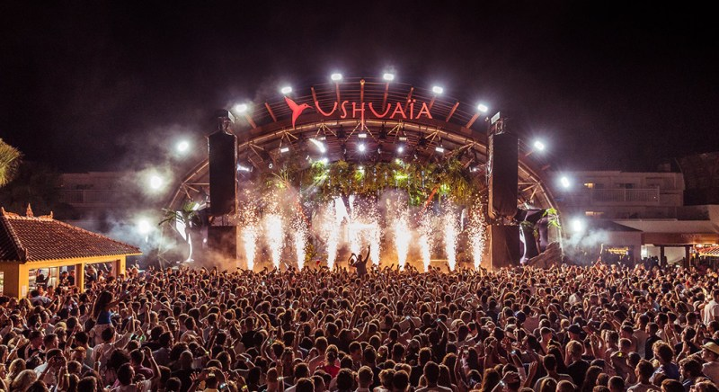 Ushuaïa Ibiza spreads 2018 opening party across two weekends