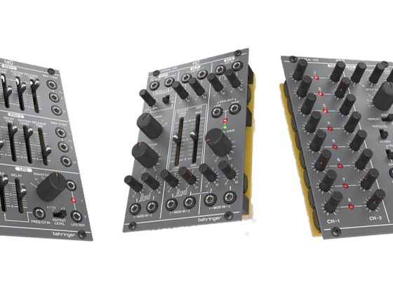Behringer announce plans to release Eurorack modules for under $100