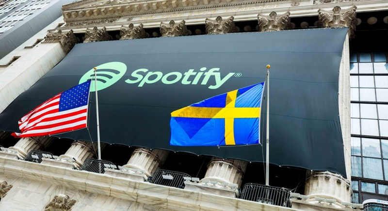 Spotify listed on NYSE with almost $30 billion valuation