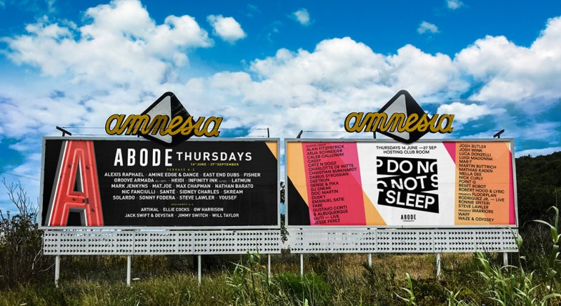 ABODE confirm headliners for first Amnesia Ibiza season