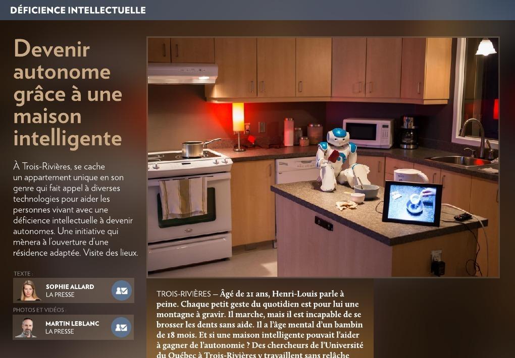 Devenir Autonome Grce Une Maison Intelligente La Presse