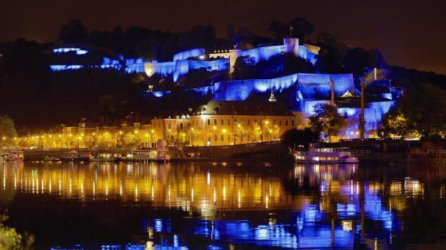 La citadelle enfilera  ce vendredi une nouvelle robe du soir, sous le regard  de nombreux Namurois.