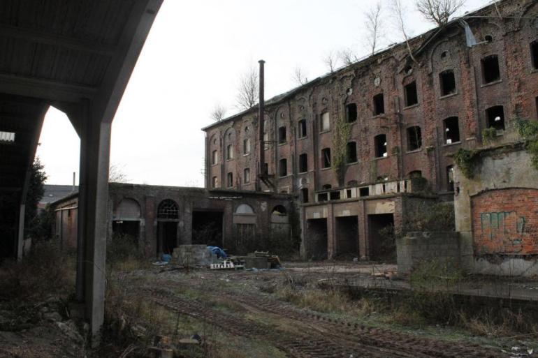 Le site de l'ancien charbonnage des Vanneaux à Colfontaine.