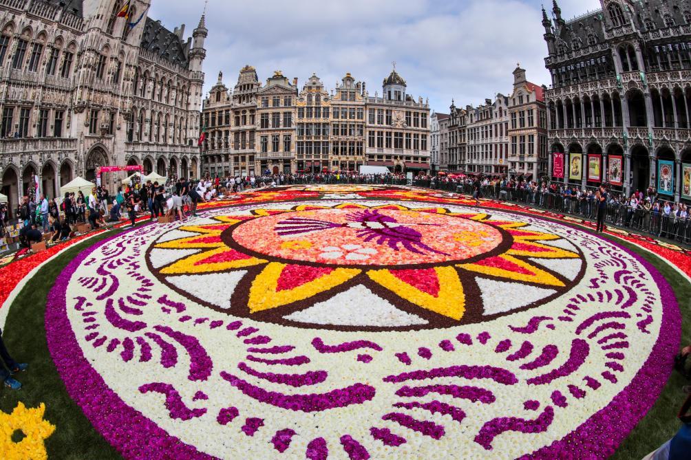 le tapis de fleurs de la grand place