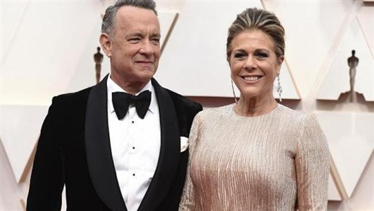 Tom Hanks announces his recovery from Corona and was seen dancing with joy!