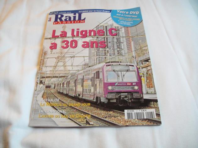 雑誌 Rail Passion 9.9ユーロ