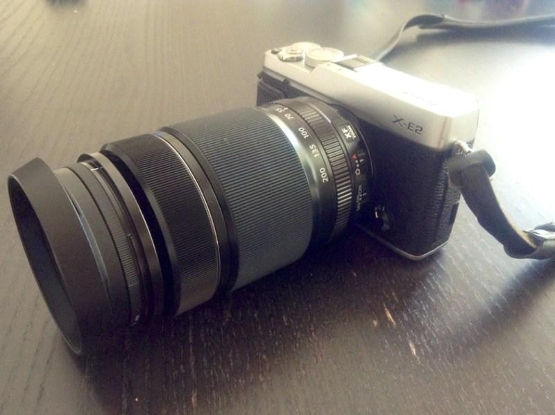 FUJIFILM XF55-200mmF3.5-4.8 R LM OIS 購入 X-E2に装着