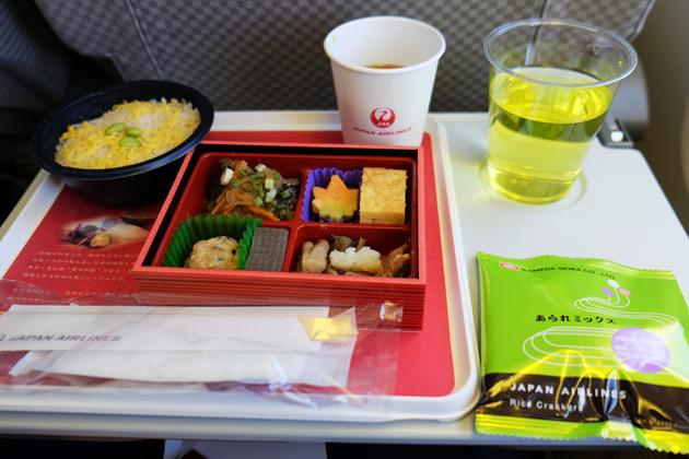 日本航空_JL29_東京/羽田⇒香港_機内食