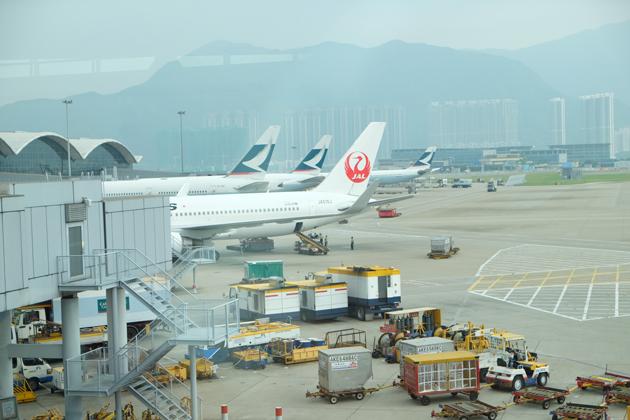 日本航空 JL26_香港⇒東京/羽田_乗る飛行機はこちら
