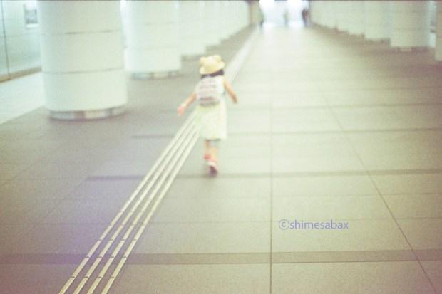 KodakSuperGold400×OM-1_青フィルター使用_夏の思い出_1年前の写真