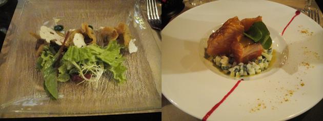 L'Auberge Café オーベルジュカフェ でディナー 前菜